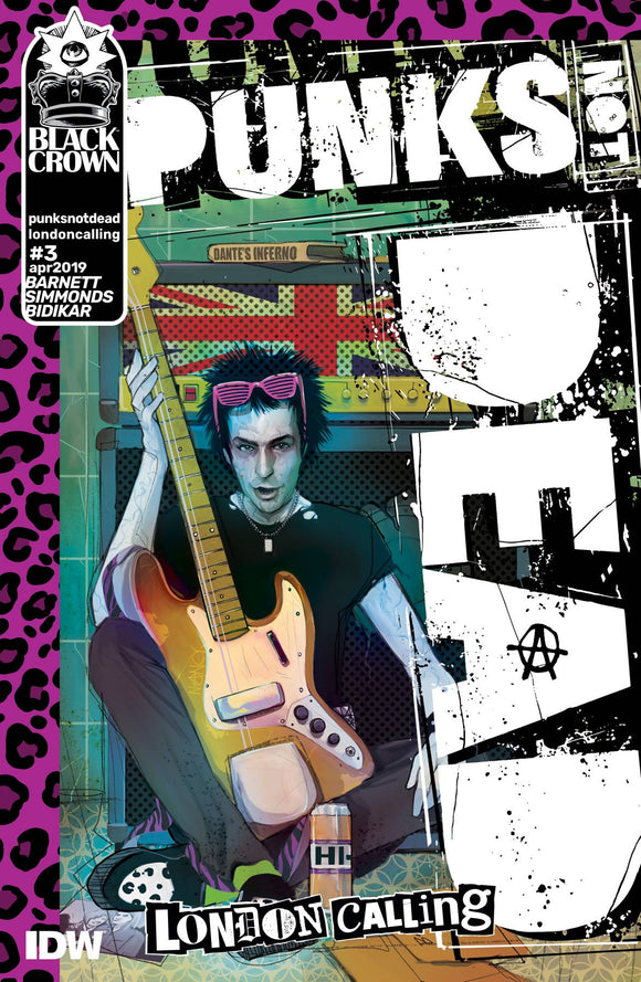 Punks Not Dead London Calling (2019) #3 (SIMMONDS)