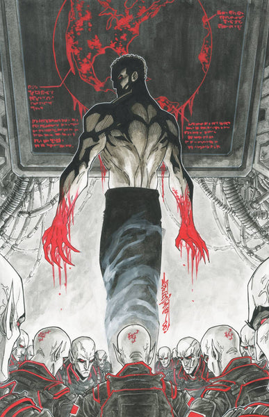 V-Wars God of Death (2019) #0 (CVR A BROWN)