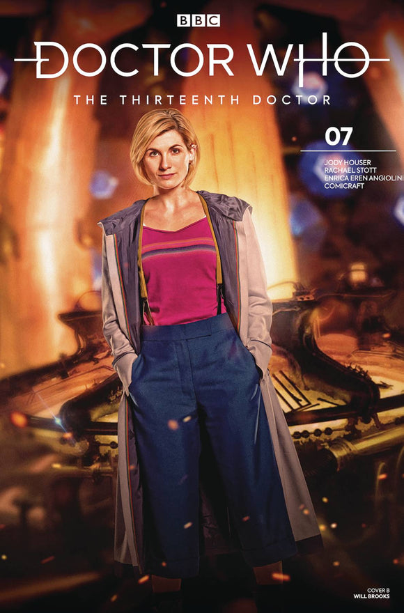Doctor Who 13th (2018) #7 (CVR B PHOTO)
