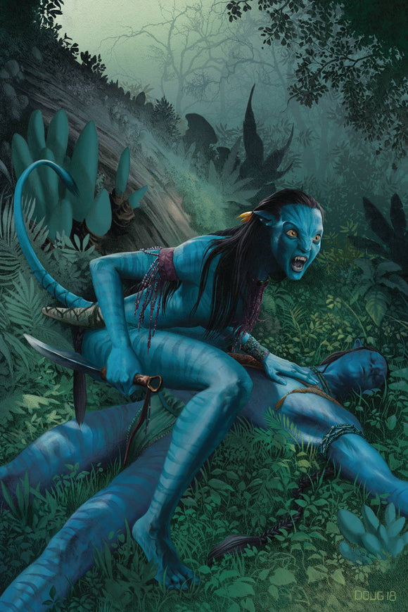 Avatar Tsu Teys Path (2019) #4 (CVR A WHEATLEY)