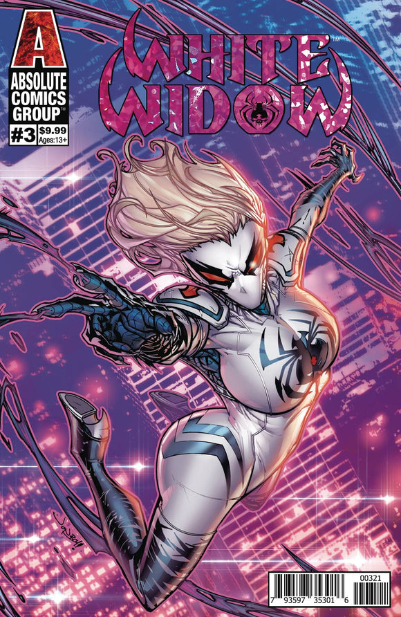 White Widow (2018) #3 (MEYERS FOIL CVR B)