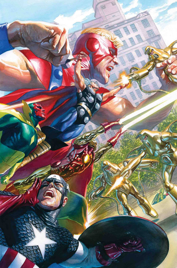 Avengers (2018) #18 (ALEX ROSS MARVELS 25TH VARIANT)