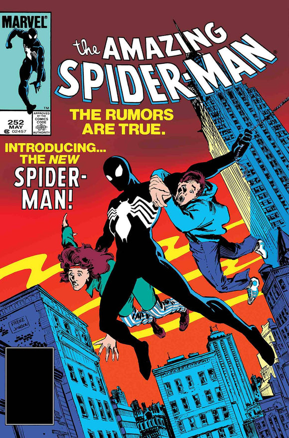 AMAZING SPIDER-MAN #252 FACSIMILE EDITION