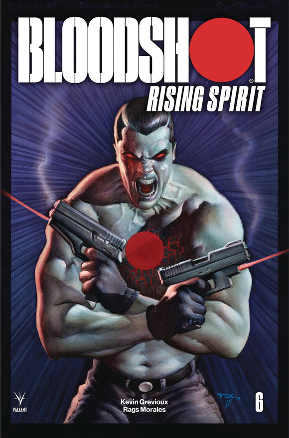 Bloodshot Rising Spirit (2018) #6 (CVR B TEXEIRA (NEW ARC))