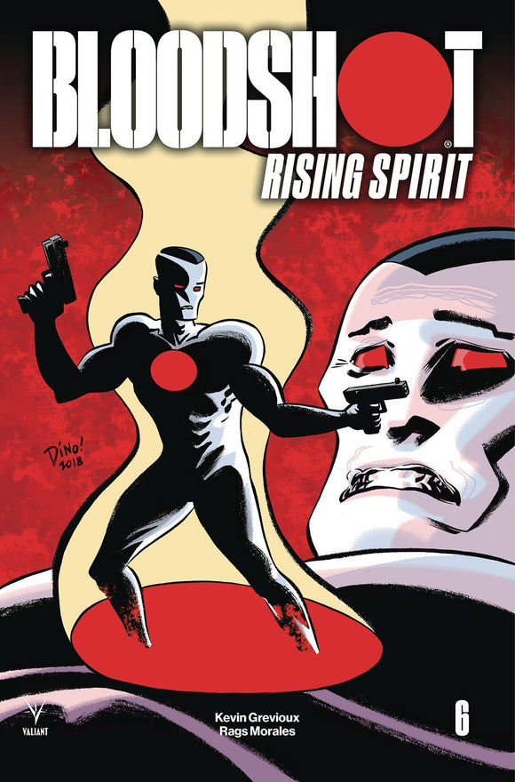 Bloodshot Rising Spirit (2018) #6 (CVR C HASPIEL (NEW ARC))