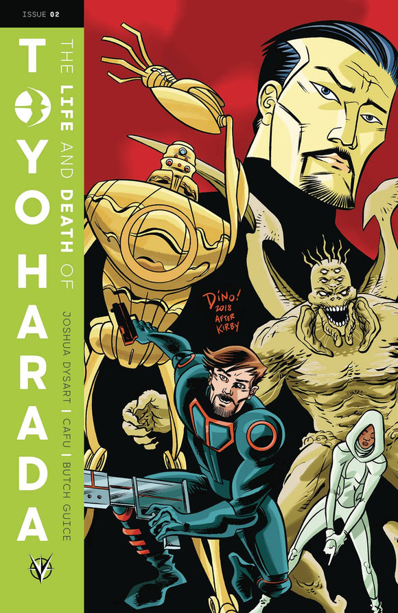 Life and Death of Toyo Harada (2019) #2 (CVR C HASPIEL)