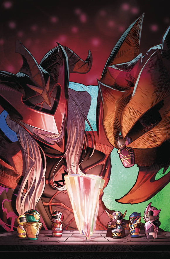 Mighty Morphin Power Rangers (2016) #38 (MAIN)