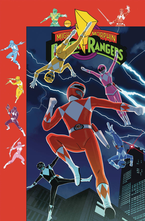 Mighty Morphin Power Rangers (2016) #38 (PREORDER GIBSON VARIANT)
