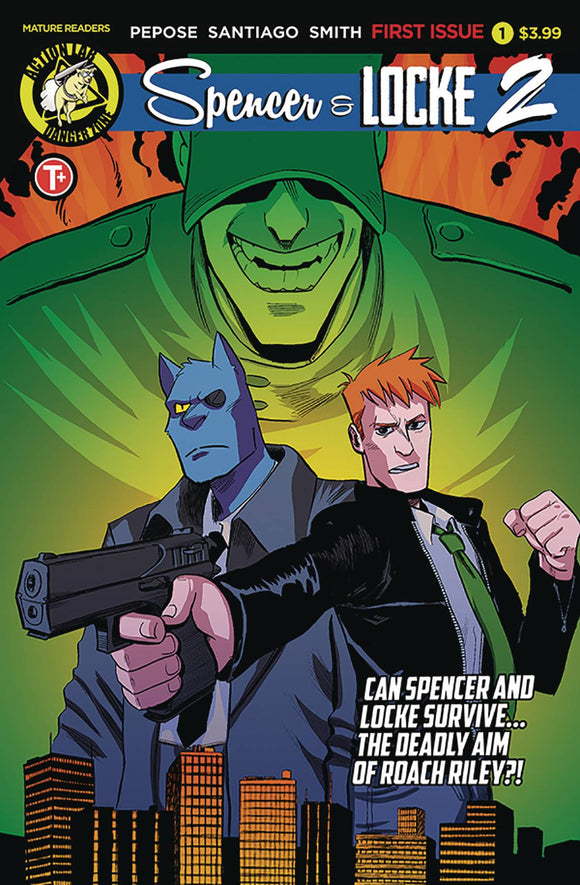 Spencer and Locke 2 (2019) #1 (CVR A SANTIAGO)