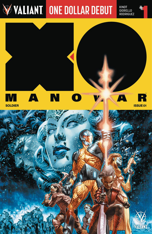 X-O MANOWAR (2017) #1 DOLLAR DEBUT