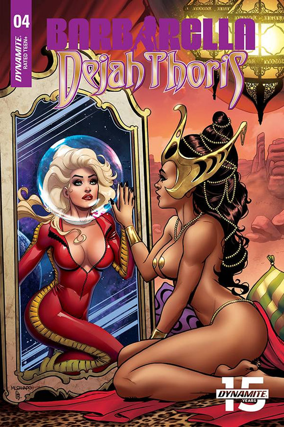 Barbarella Dejah Thoris (2019) #4 (1:10 SANAPO SEDUCTION INCV)