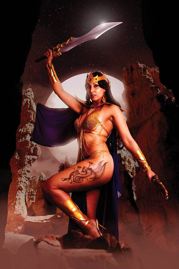 Barbarella Dejah Thoris (2019) #4 (VIRGIN COSPLAY VARIANT)