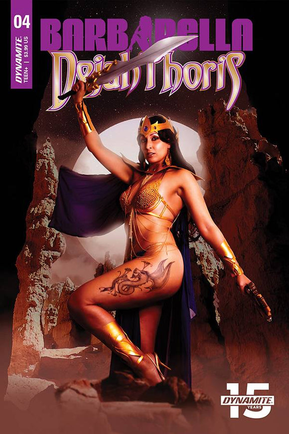 Barbarella Dejah Thoris (2019) #4 (CVR E COSPLAY)
