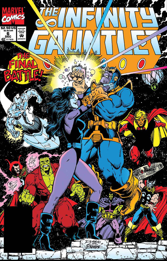 TRUE BELIEVERS AVENGERS THANOS FINAL BATTLE #1