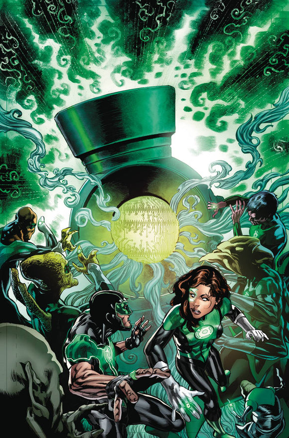 Green Lanterns TP Volume 9 (EVILS MIGHT)