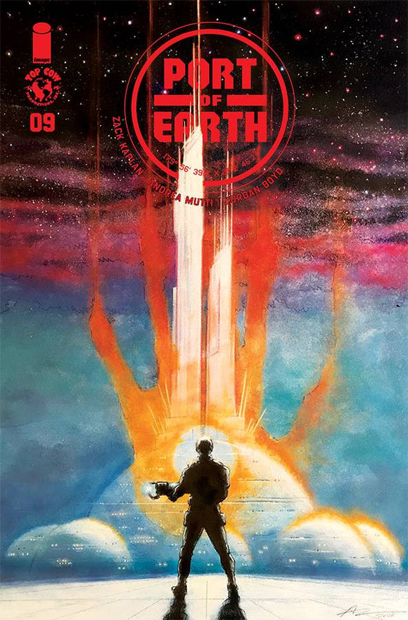 Port of Earth (2017) #9 (CVR B MUTTI)