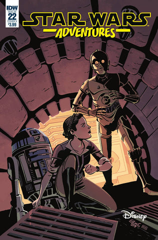 Star Wars Adventures (2017) #22 (COVER A CHARRETIER)