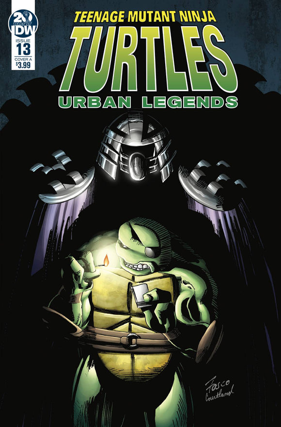 Teenage Mutant Ninja Turtles Urban Legends (2018) #13 (COVER A FOSCO)
