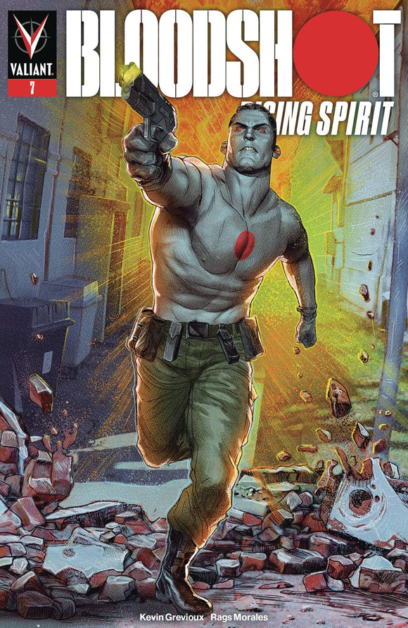 Bloodshot Rising Spirit (2018) #7 (COVER A GUEDES)