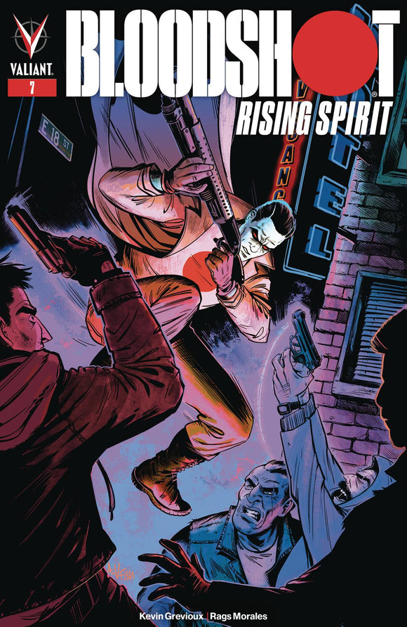 Bloodshot Rising Spirit (2018) #7 (COVER C FISH)
