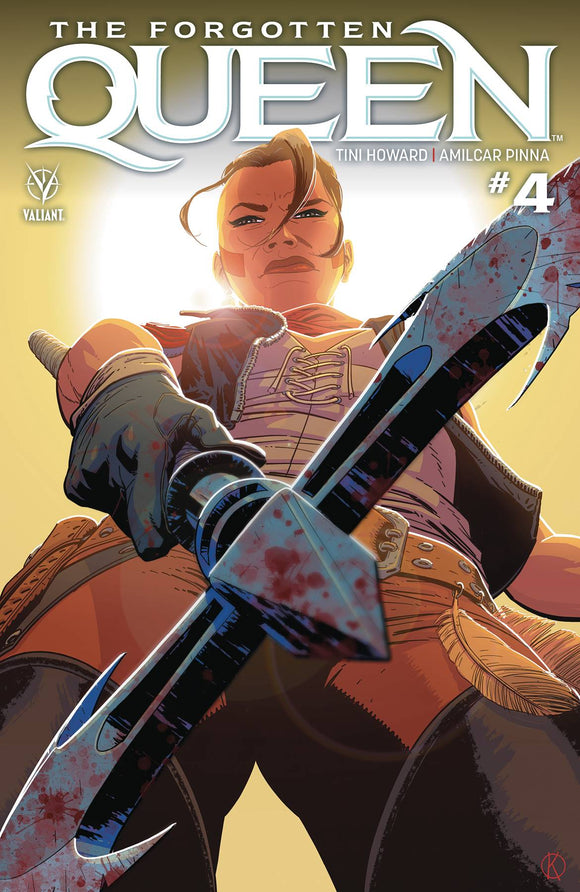 Forgotten Queen (2019) #4 (COVER A KANO)