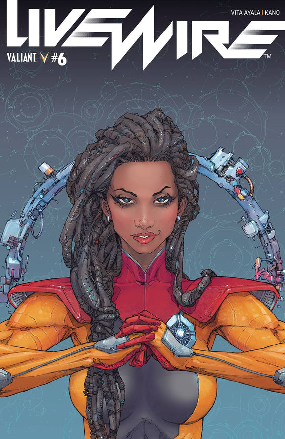 Livewire (2018) #6 (COVER A ROCAFORT)