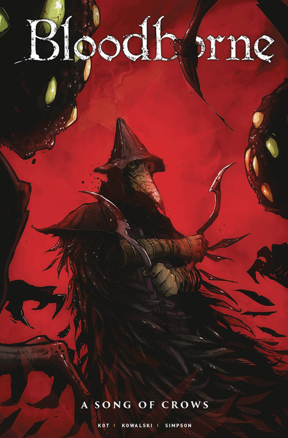 Bloodborne (2018) #12 (COVER A WORM)