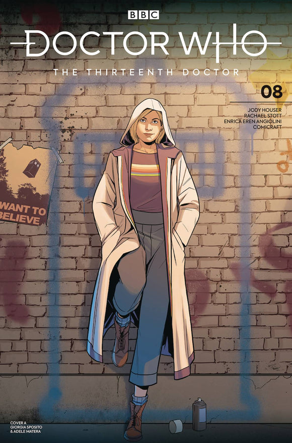 Doctor Who 13th (2018) #8 (COVER A SPOSITO)