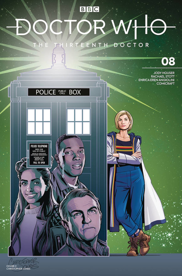 Doctor Who 13th (2018) #8 (COVER C JONES)
