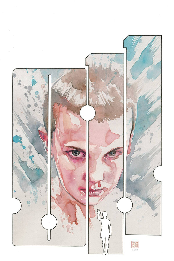 Stranger Things Six (2019) #1 (COVER C MACK)