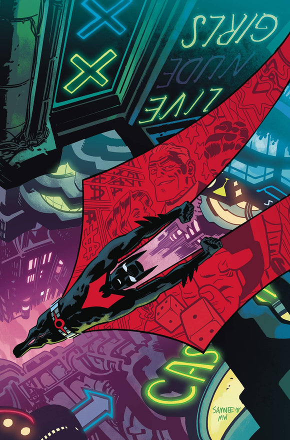 Batman Beyond (2016) #32