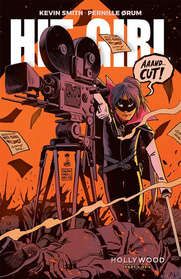 Hit-Girl Season Two (2019) #4 (COVER A FRANCAVILLA)