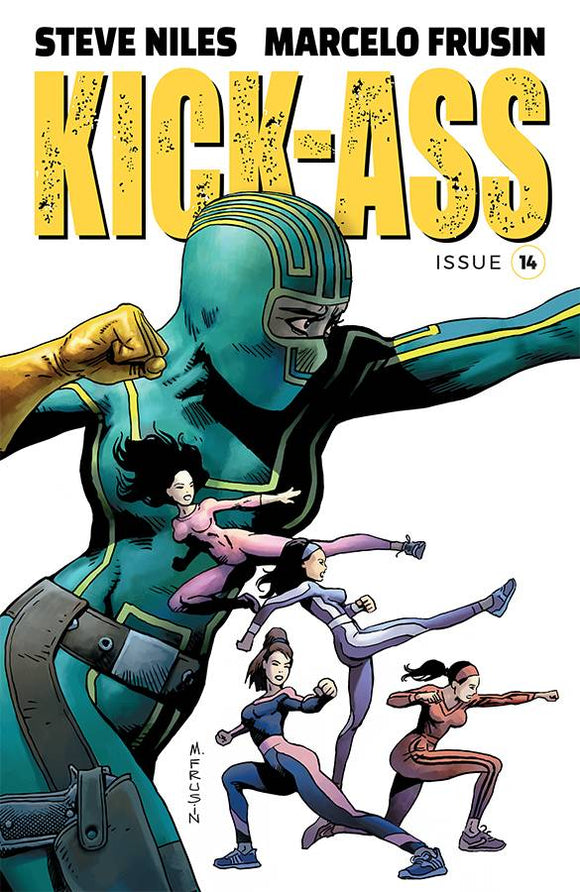 Kick-Ass (2018) #14 (COVER A FRUSIN)