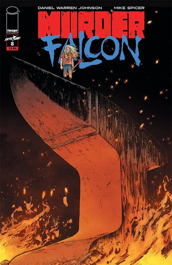 Murder Falcon (2018) #8 (COVER A JOHNSON & SPICER)