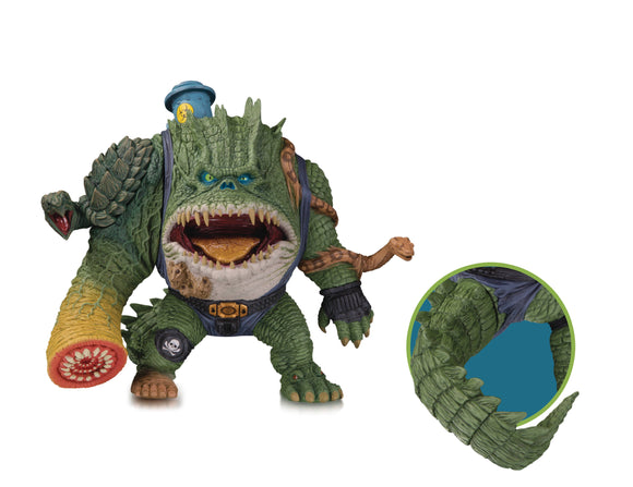 DC ARTISTS ALLEY KILLER CROC BY GROMAN VINYL FIG