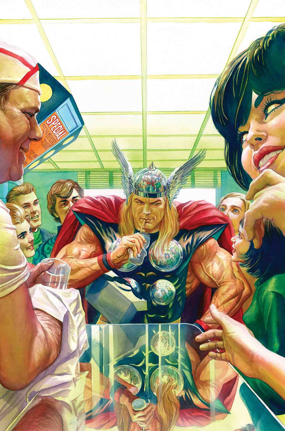 Thor (2018) #13 (ALEX ROSS MARVELS 25TH VAR)