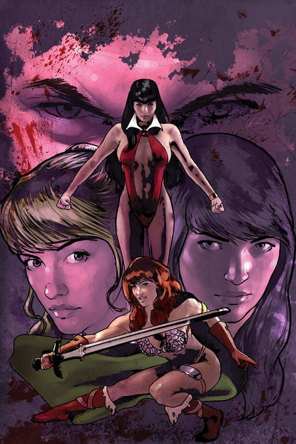 Red Sonja & Vampirella Betty & Veronica (2019) #1 (STAGGS VIRGIN)