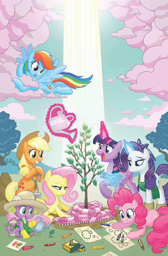 My Little Pony Spirit of the Forest (2019) #1 (COVER A HICKEY)