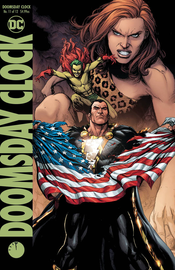 Doomsday Clock (2017) #11 (VARIANT)