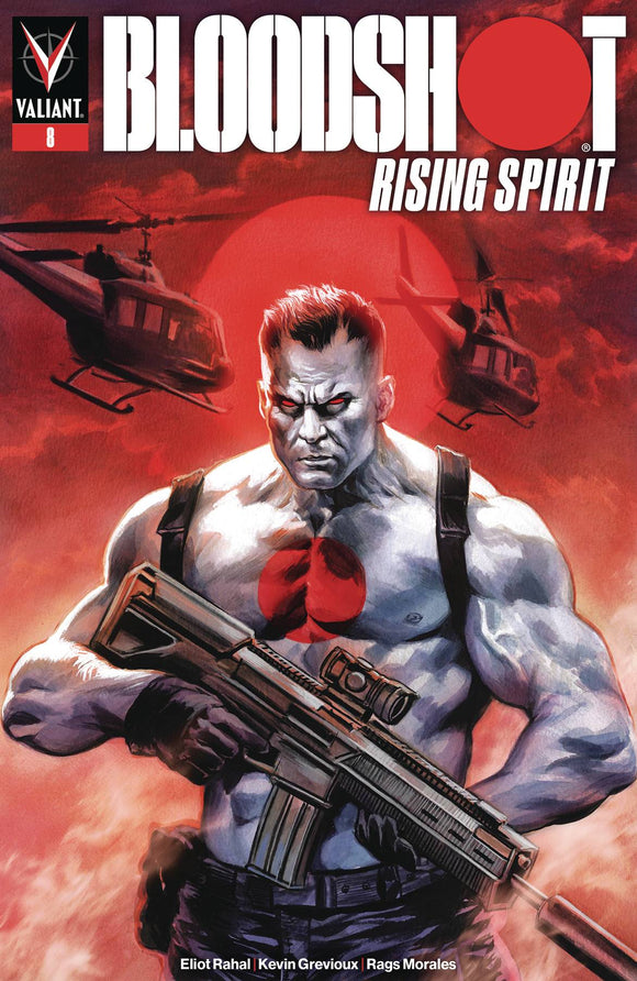 Bloodshot Rising Spirit (2018) #8 (COVER A MASSAFERA)