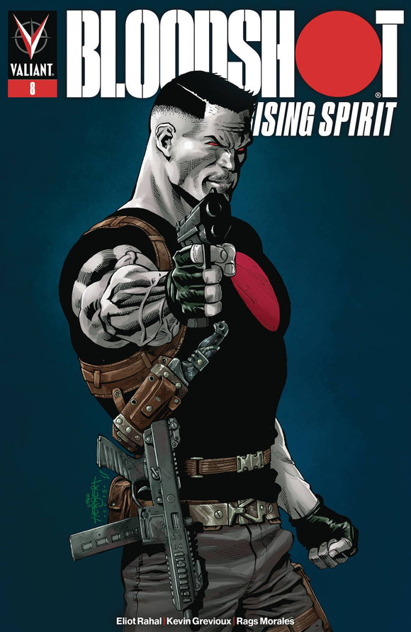 Bloodshot Rising Spirit (2018) #8 (COVER B HERBERT)