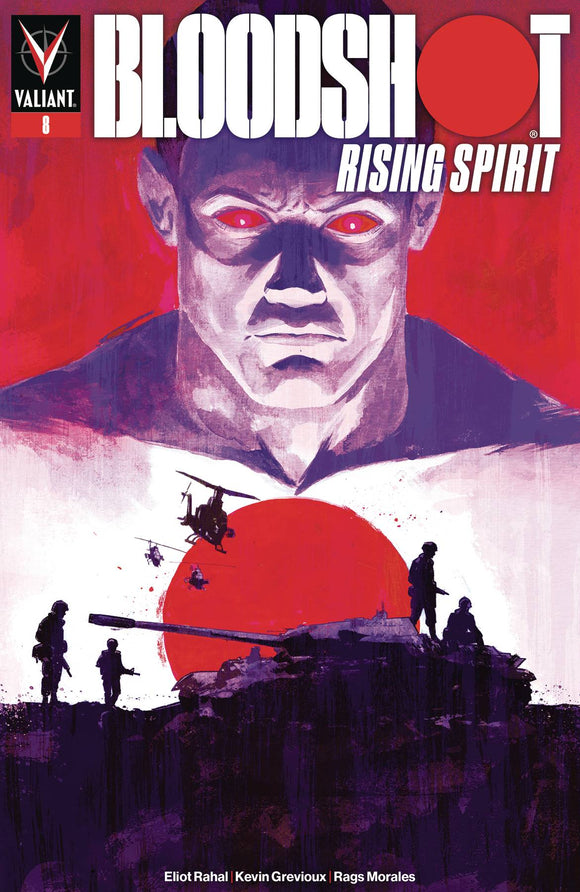 Bloodshot Rising Spirit (2018) #8 (COVER C WALSH)