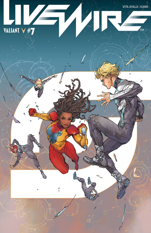 Livewire (2018) #7 (COVER A ROCAFORT)