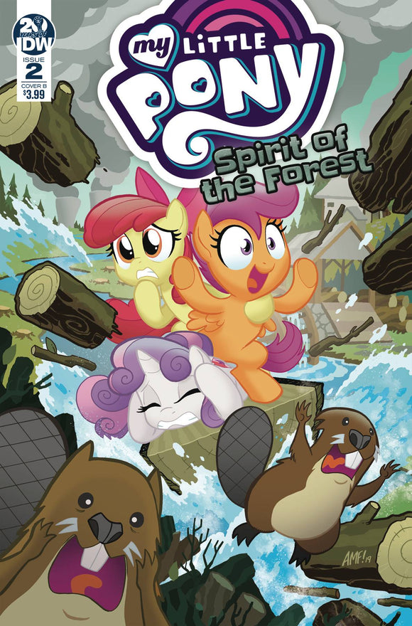 My Little Pony Spirit of the Forest (2019) #2 (COVER B FLEECS)