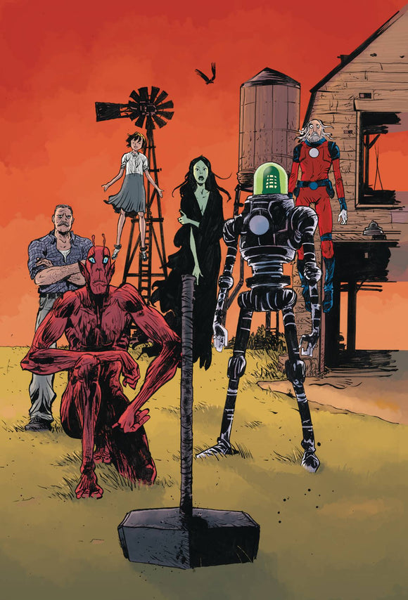 Black Hammer Age of Doom (2018) #12 (COVER B POPE & STEWART)