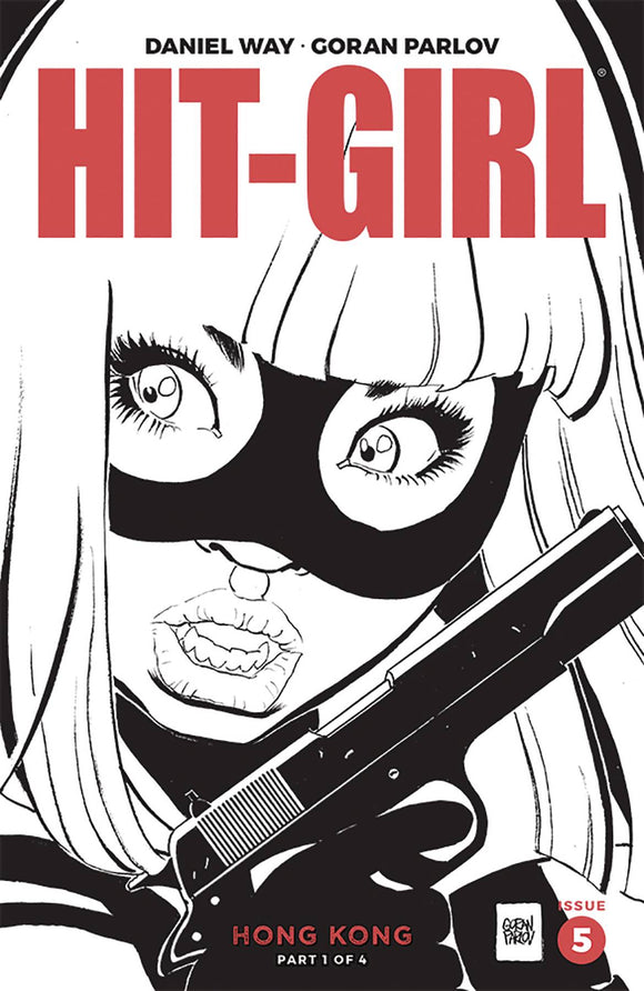 Hit-Girl Season Two (2019) #5 (COVER B PARLOV)