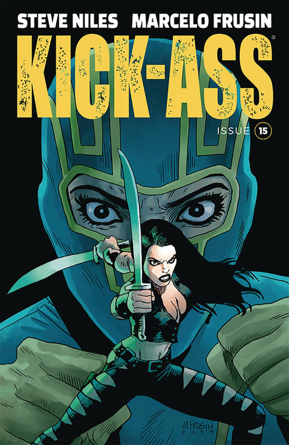Kick-Ass (2018) #15 (COVER A FRUSIN)