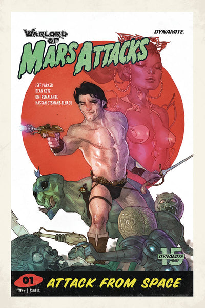 Warlord of Mars Attacks (2019) #1 (COVER D CALDWELL)