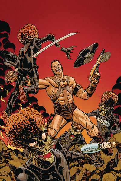 Warlord of Mars Attacks (2019) #1 (1:30 JOHNSON VIRGIN VARIANT)