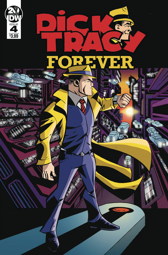 Dick Tracy Forever (2019) #4 (CVR A OEMING)